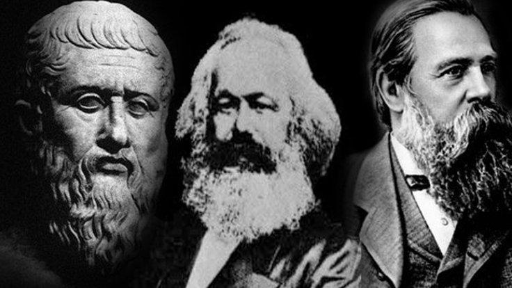 Listenin ilk 20'sinde Platon'un (solda) iki eseri yer alıyor. Karl Marx ile Friedrich Engels'in Komünist Manifesto'su de ilk 20'de yer alan eserler arasında.