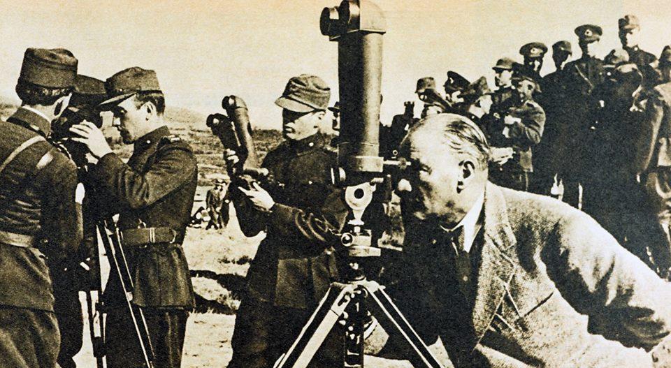Aynı manevradan başka bir görüntü (1934)...